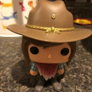 Carl from the walking dead!